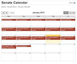 January_Senate Calendar